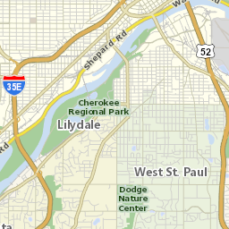 Interactive Transit Map - Us bank energy park st paul maps